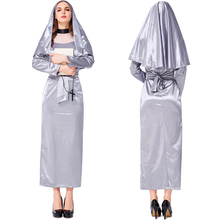 Fancy Nun Costume For Women Adult Halloween Dress