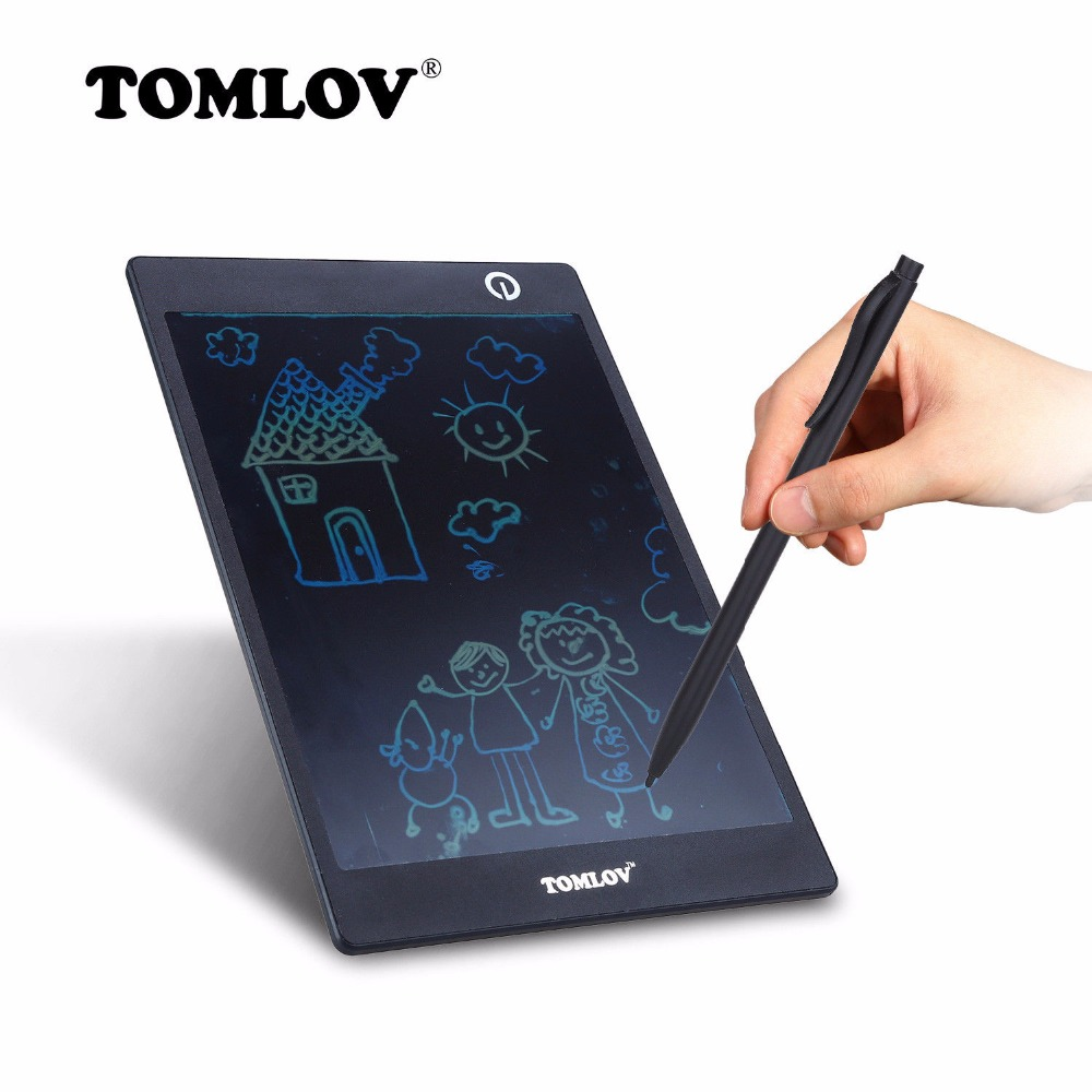 TOMLOV 9 7 EWriter LCD Writing Table Electronic font b Drawing b font Table ABS Eye