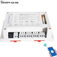 Sonoff 4ch Pro интеллектуальной автоматизации дома модуль Беспроводной Управление WI-FI Smart Switch домашний свет Alexa удаленного Amazon Alexa