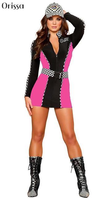 55fc486d1c3 Sexy Halloween Costumes For Women Girls Sexy Racer Costume Sexi Cat Women  Sailor Nurse Outfits Women Sc 1 St AliExpress.com