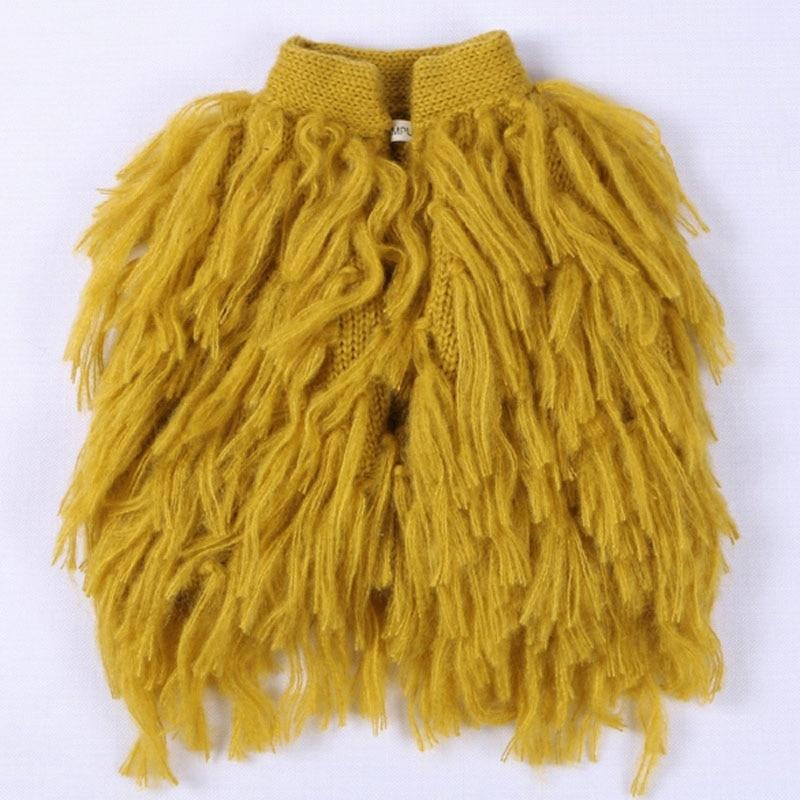 Design de moda crianças coletes do bebê meninas outerwear casacos crianças colete da criança menina jaquetas outono borla coletes roupas da menina