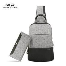 Mark Ryden Man Bag Set Sling Bag Plus Wallet Male Business Crossbody Bags
