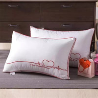 Bedding Pillow Set of 2 LOVE Cool Pillow Size 48x74cm 2pc/Lot Soft Pillow for Wedding Valentine's Gift White Love Wedding