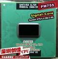 Original Intel PM755 pm 755 2.0G / 2M / 400 SL7EM genuine PGA notebook CPU supports 855 chipset pm765 pm 765
