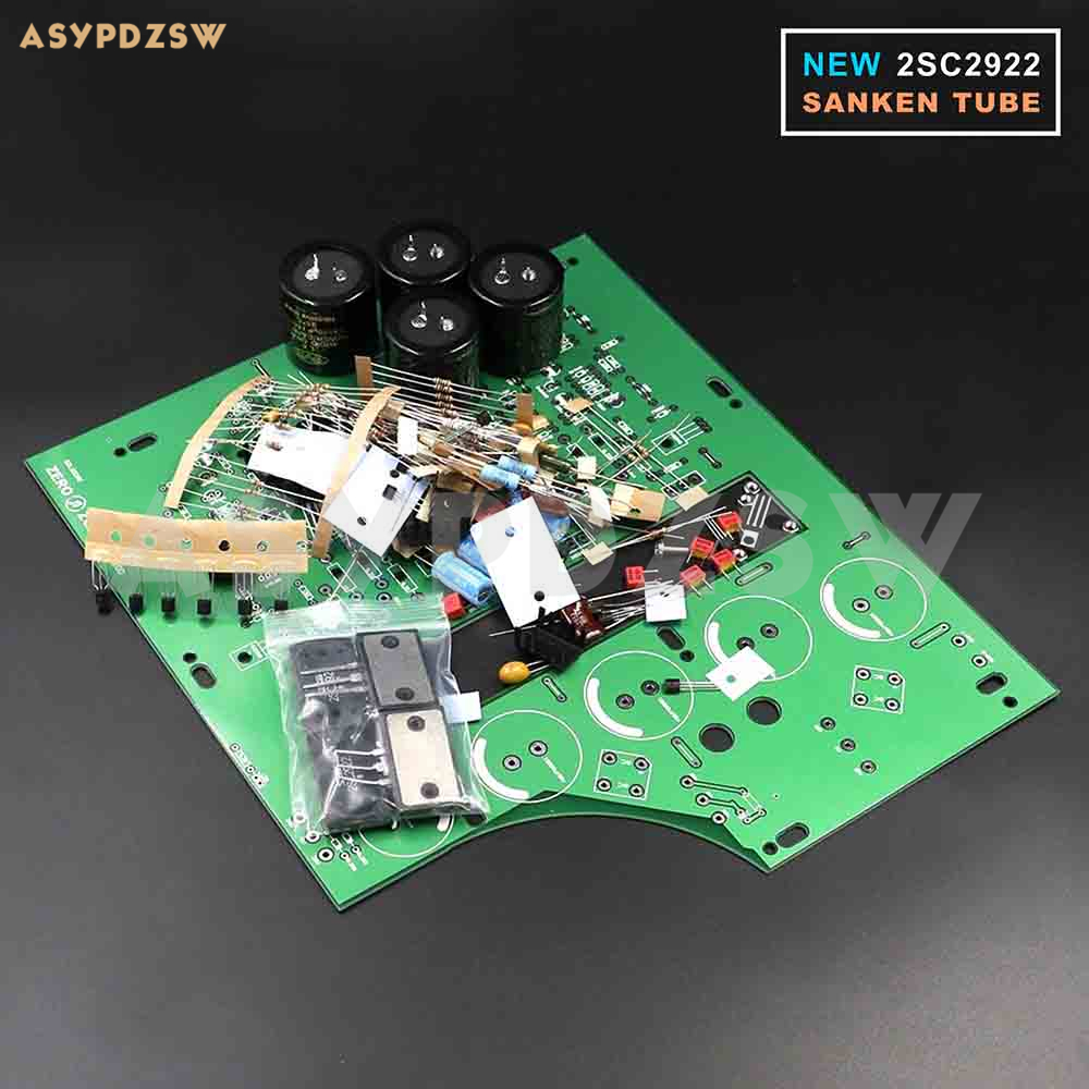 (NEW 2SC2922) Stereo NAP200 Power amplifier base on UK NAIM Black Box Power amp DIY Kit finished 2 0 channel ncc200 power amplifier board base on uk naim nap250 135 amp