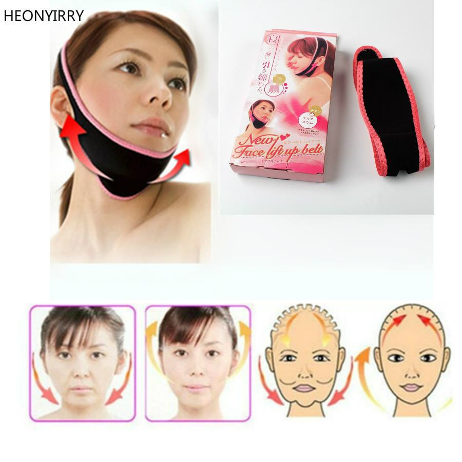 Face Lift Up Belt Facial Shaper Bandage V Facial Slimming Massager Tool Relieve Double Chin Anti-aging Tighten The Face Contour Massage & Relaxation