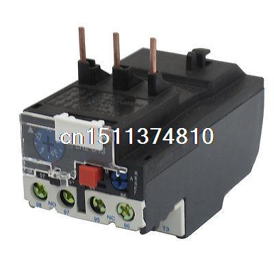 2.5-4A Adjustable Thermal Overload Relay 1NO 1NC JR28-13 7 10a adjustable thermal relay  overload