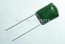 10pcs Mylar Film Capacitor 630V 2J333J 0.033uF 33nF 2J333 5% Polyester Film capacitor