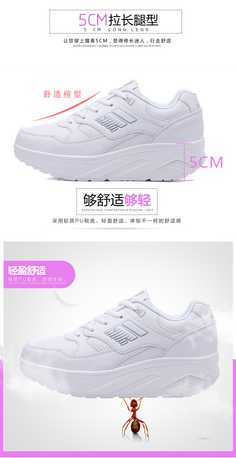 Autumn winter outdoor Girls Sneakers Platform Running Shoes for Women Sneakers Sports Shoes White Sneakers 2