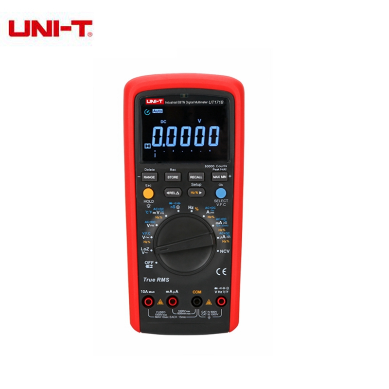 UNI-T UT171B Industrial True RMS Digital Multimeter Auto/Manual Range Admittance/Resistance Tester C/F Thermometer VFC jeruan wired 9 inch video doorbell door phone intercom system kit hd rfid access camera for 6 households apartment in stock