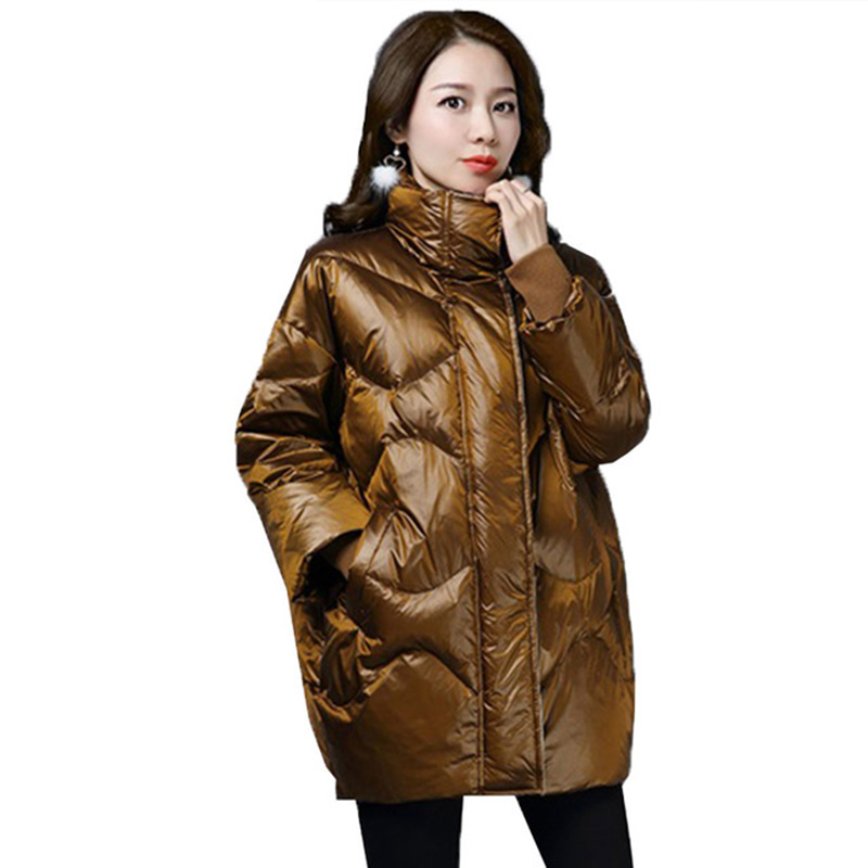90% White duck   down     coats   High quality winter   down   parkas female warm   down   jacket   coat   women loose plus size   down     coat   YP2162