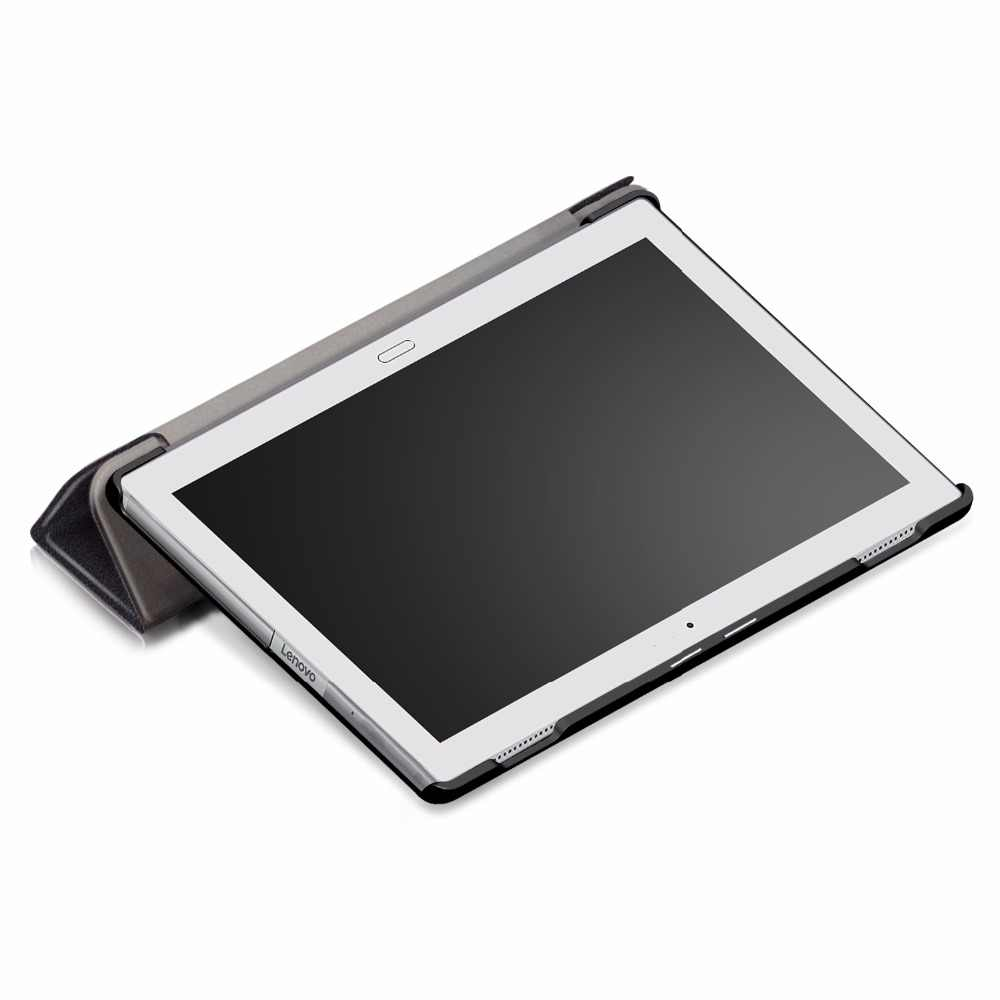 لينوفو تاب 4 10 Plus TB-X704F/X704N/X704L جراب كمبيوتر لوحي لينوفو تاب 4 10 Plus الذكية جلد الوجه حامل غطاء + ستايلس