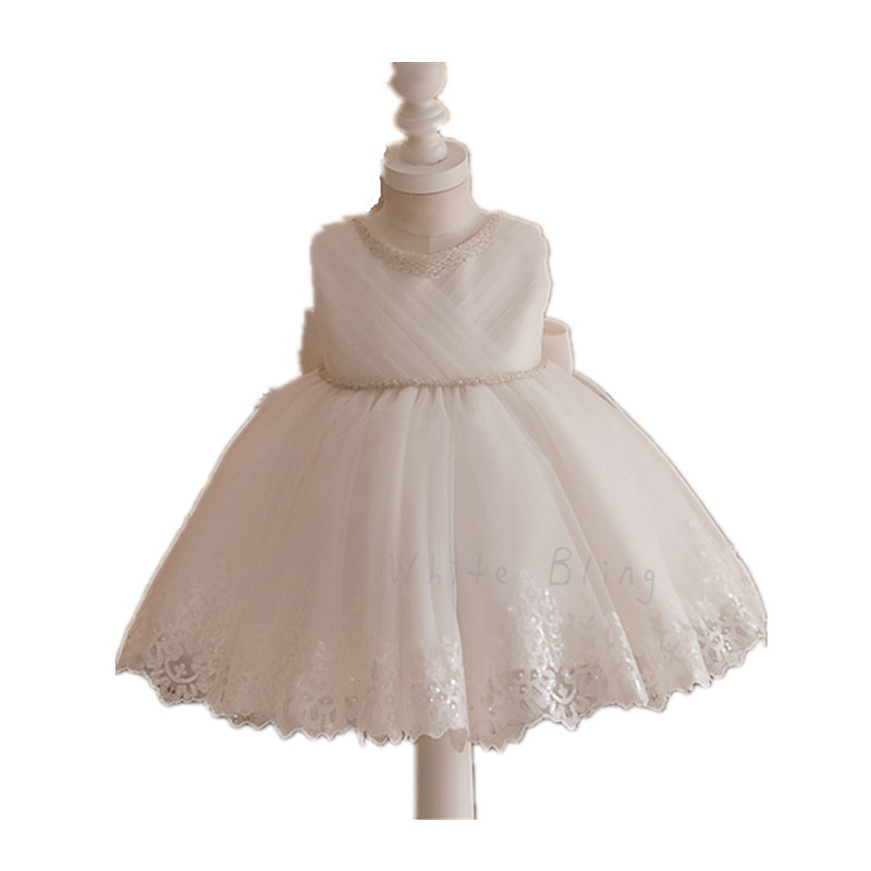 ▻BBWOWLIN Baby Flower Girl Dresses Formal Gowns for 1-6 Years ...