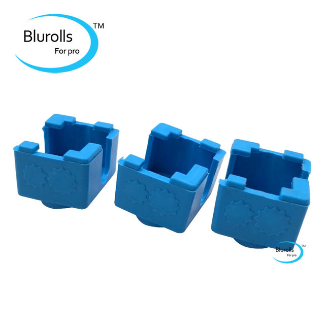 3 Pcs V6 Heater Block Fixings Silicone Insulation Sock For E D