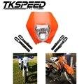 TKSPEED Мотоцикла Байк Мотокросс Supermoto Универсальный Фара Обтекатель KTM SX EXC