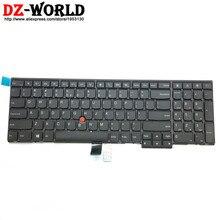 Новая английская клавиатура Orig USI для Lenovo Thinkpad P50S T560 W540 T540P W541 T550 W550S L540 L560 Teclado 04Y2378 04Y2456