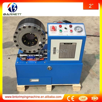Lowest Price Of 1 4 To 2 Four Wire Braided High Pressure Hydraulic Hose Swaging Machine