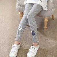 Children Winter Girls Leggings Cotton Cute Star Trousers Girl Skinny Pencil Pants Cartoon Leggings Girl 4