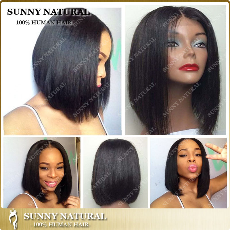 women short cut bob lace front wigs bobbi boss hair