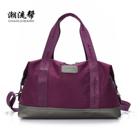 Large Capacity Bag Waterproof Nylon Travel Bag Brand Women Handbag Strong Luggage Bag Men And