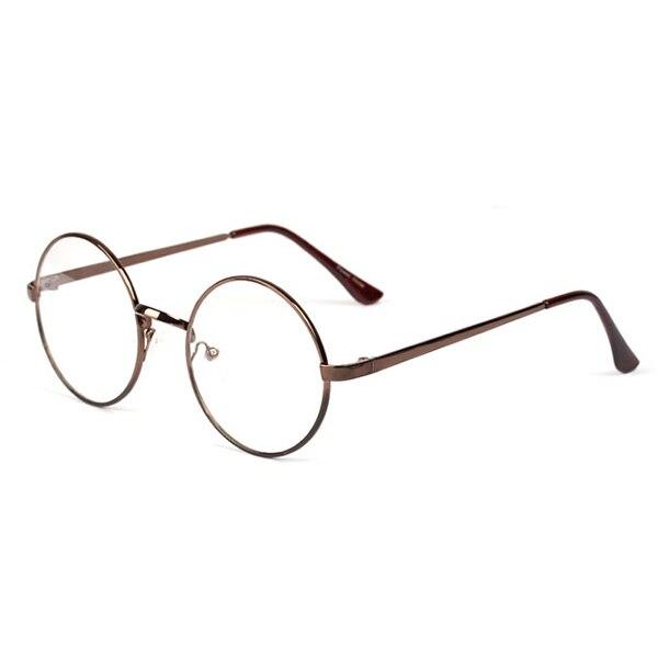 0949ca4bd5f Fashion Womens Mens Retro Round Metal Frame Clear Lens Glasses Spectacles  Eyeglass Aluninum Unisex Eyewear Accessories