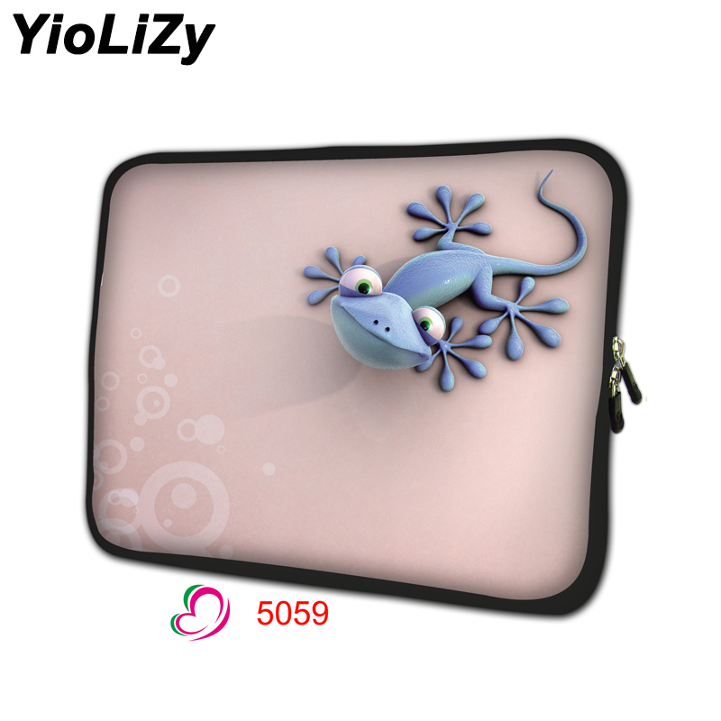 lizard print men Laptop tablet bag 7 9.7 11.6 13.3 14 15 15.6 17 17.3 inch Notebook sleeve cover women Ultrabook pouch NS-5059