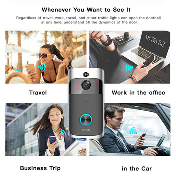WIFI Smart Doorbell Camera - IP Video Intercom