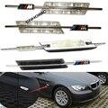 M Logotipo Do Carro Fender LEVOU Piscas Lado Marcador de Luz LED 12 V SMD3528 Kit lâmpada Para BMW E81 E82 E87 E88 E90 E91 E92 E60 E61 E93