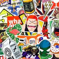 1000pcs Wholesale Funny Fashion Cool Skateboard Laptop Stickers Luggage Veneer Refrigerator Phone Toy Shape Vinyl Decals