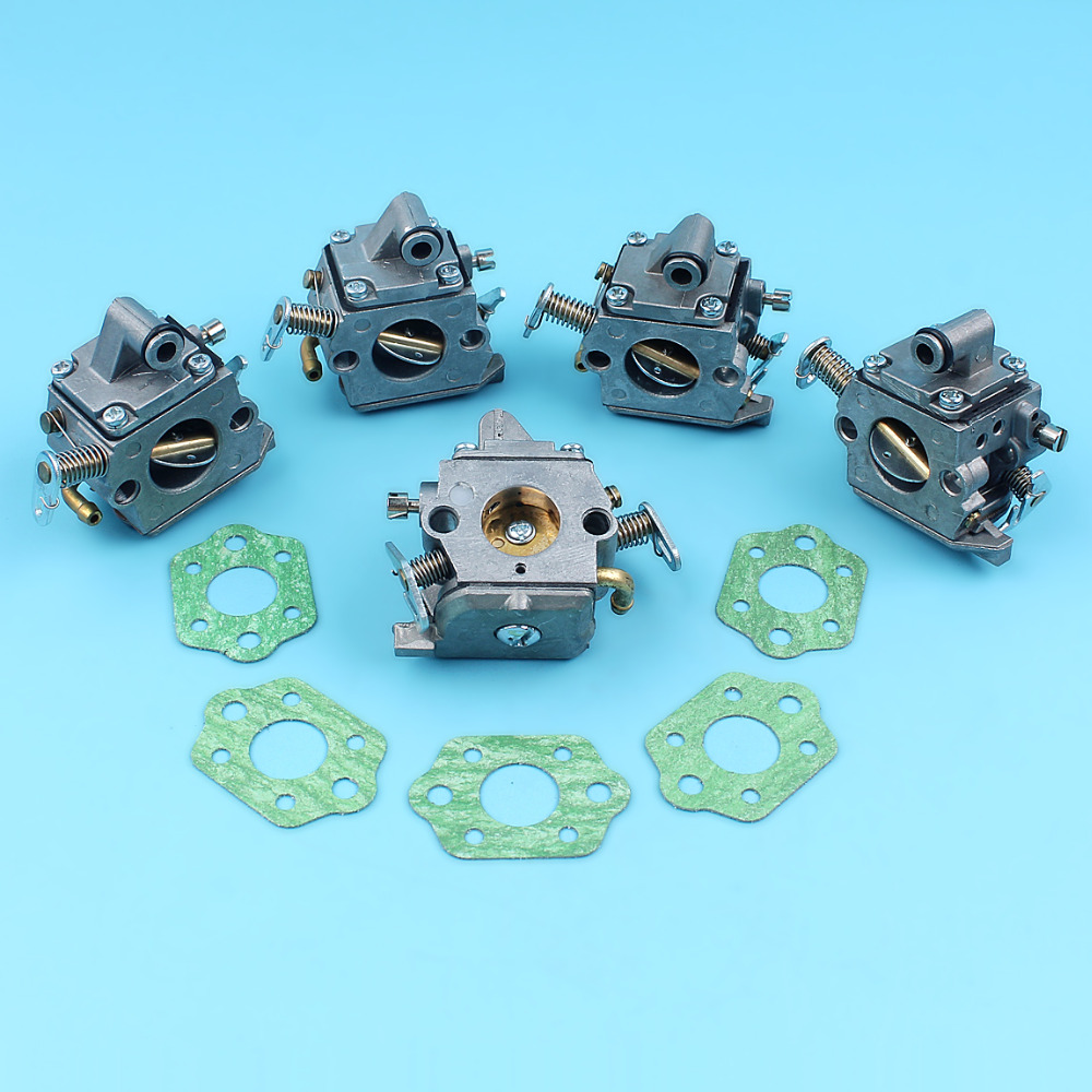 5 x Carburetor w/ Gaskets For STIHL MS170 MS180 017 018 MS 170 180 Chainsaw ZAMA C1Q-S57B Replacement Spare Parts Carb бензопила stihl ms 361 18