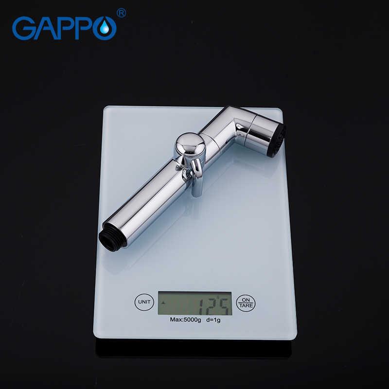 GAPPO シャワーヘッド ABS ビデ蛇口ハンドシャワー浴室のシャワーヘッド ABS ノズルシャワークロームバスビデトイレスプレー