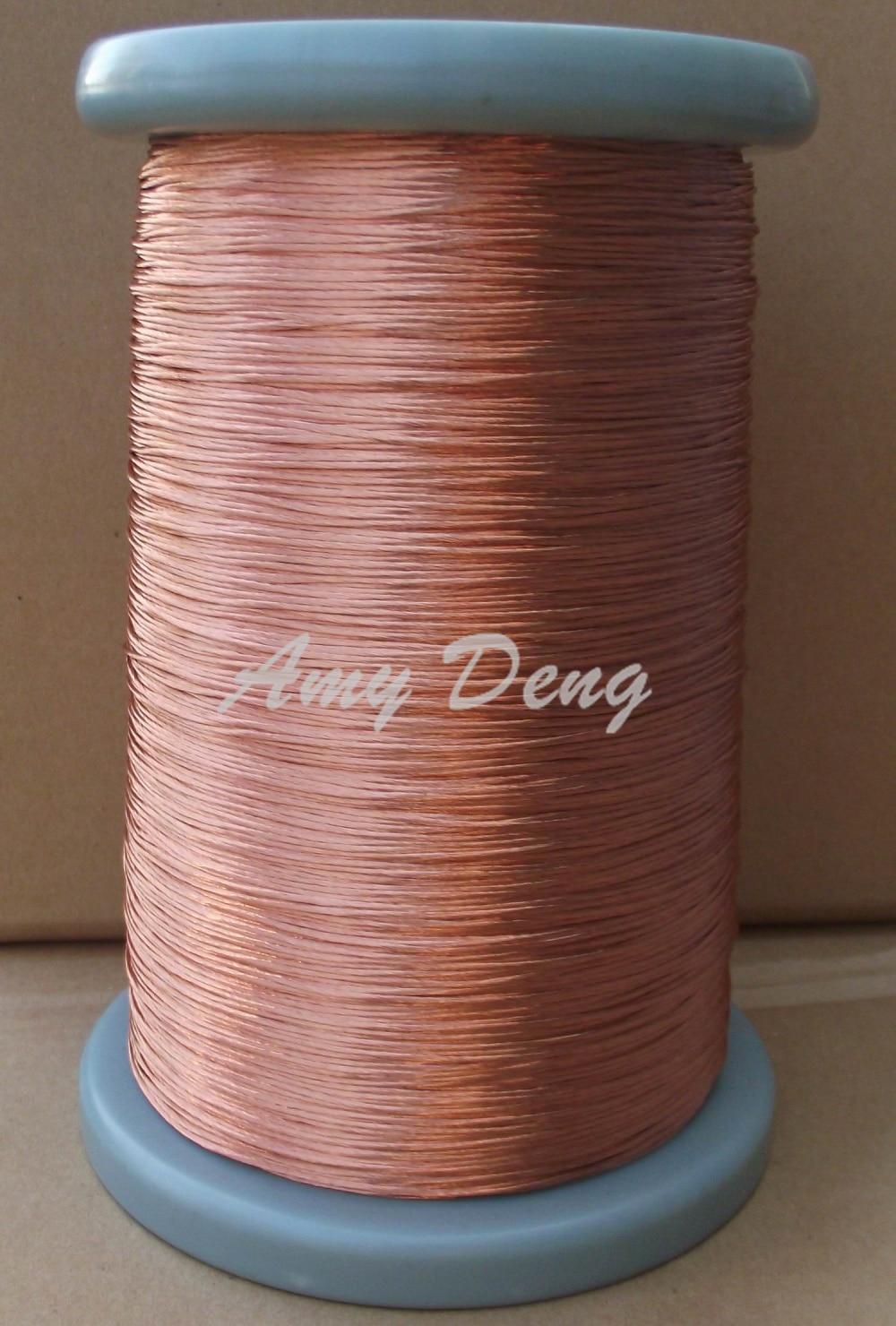 100 meters/lot  0.2X35 Liz line mul strand round copper stranded wire