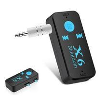 Mini Car Kit Bluetooth Adapter Receiver Wireless In-Car Transmitter Radio