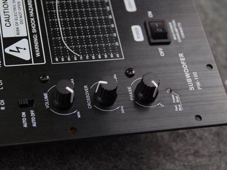 100w home 1 0 digital active subwoofer amplifier board. Black Bedroom Furniture Sets. Home Design Ideas