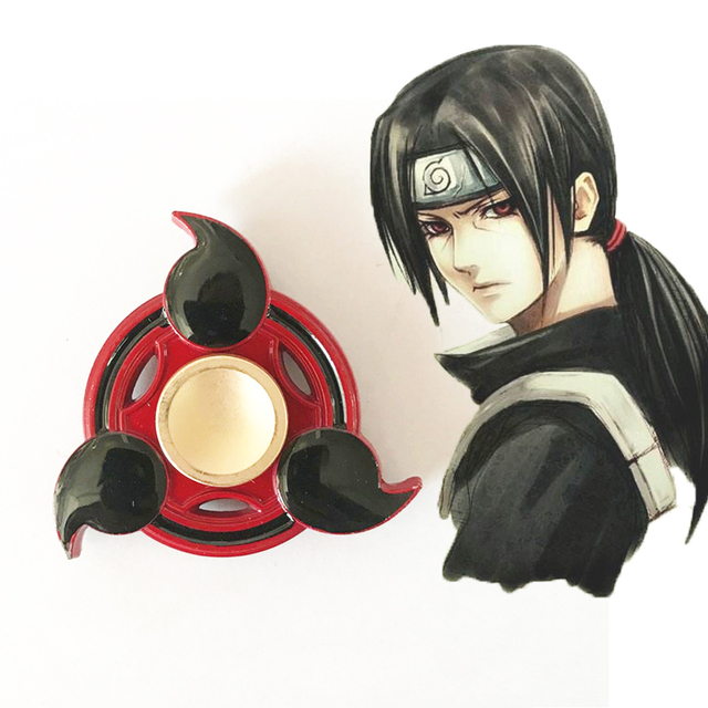 Naruto Metal Fidget Hand Spinner For Anti Stress