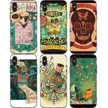Lovely Cute Cartoon Phone Cases Cover for iphone X XR XS MAX 6 6s 7 8 Plus TPU Coque For 8Plus 5SE