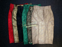 מפעל סיטונאי חדש אופנה חצאית מגוון צבעים עם Slim למתוח עיפרון חצאית תחבושת חצאית (H0465)