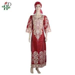 Image 3 - 2019 בגדים אפריקאים אפריקאי שמלות לנשים headwraps חלוק דרום אפריקה bazin riche שעווה שמלה בתוספת גודל יפה שמלה