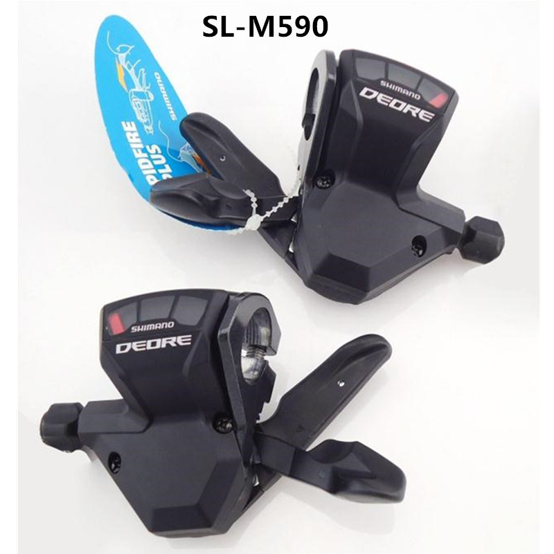 SHIMANO DEORE SL M590 3x9S 27S Speed MTB Bicycle Shifter Lever Trigger /& Cable