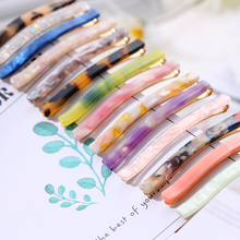 1pc Colorful Natural Stone Hair Clip