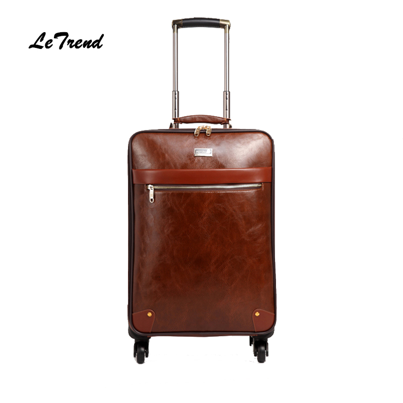 Leather Cabin Bags Promotion-Shop for Promotional Leather Cabin ...