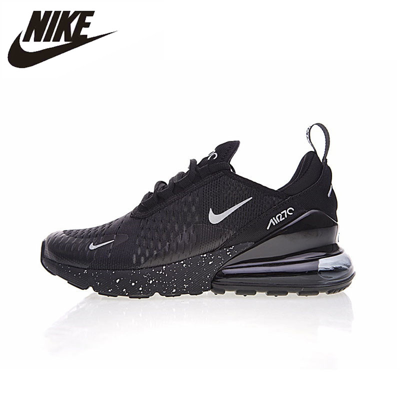 9fbef9819c0e Nike Air Max 270 180 Running Shoes Sport Outdoor Sneakers Black Comfortable  Breathable Cushioning for Men