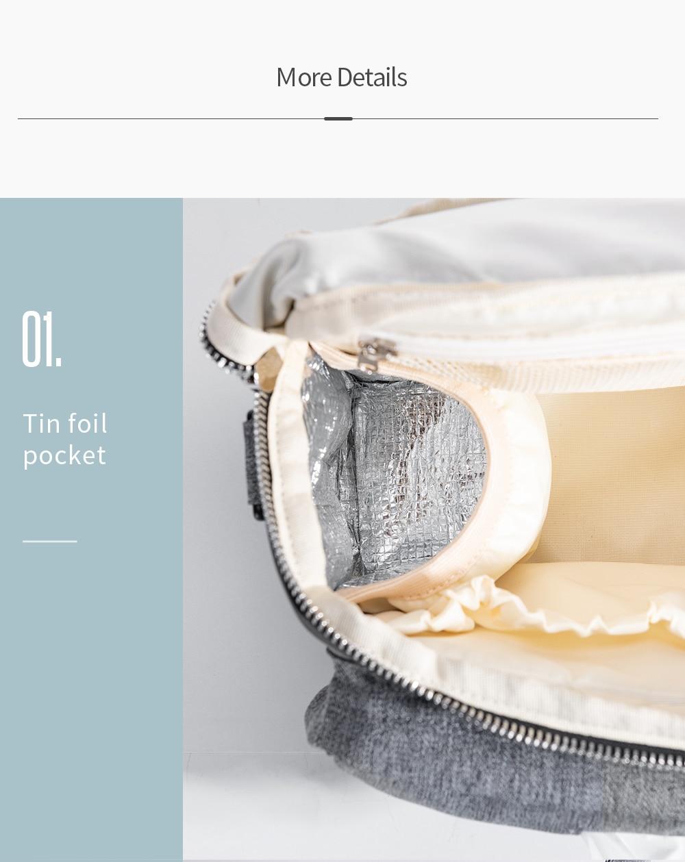 HTB1AvMIXED1gK0jSZFGq6zd3FXaB SUNVENO Diaper Bag For Baby Stuff Nappy Bag Stroller Organizer Baby Bag Mom Travel Hanging Carriage Pram Buggy Cart Bottle Bag
