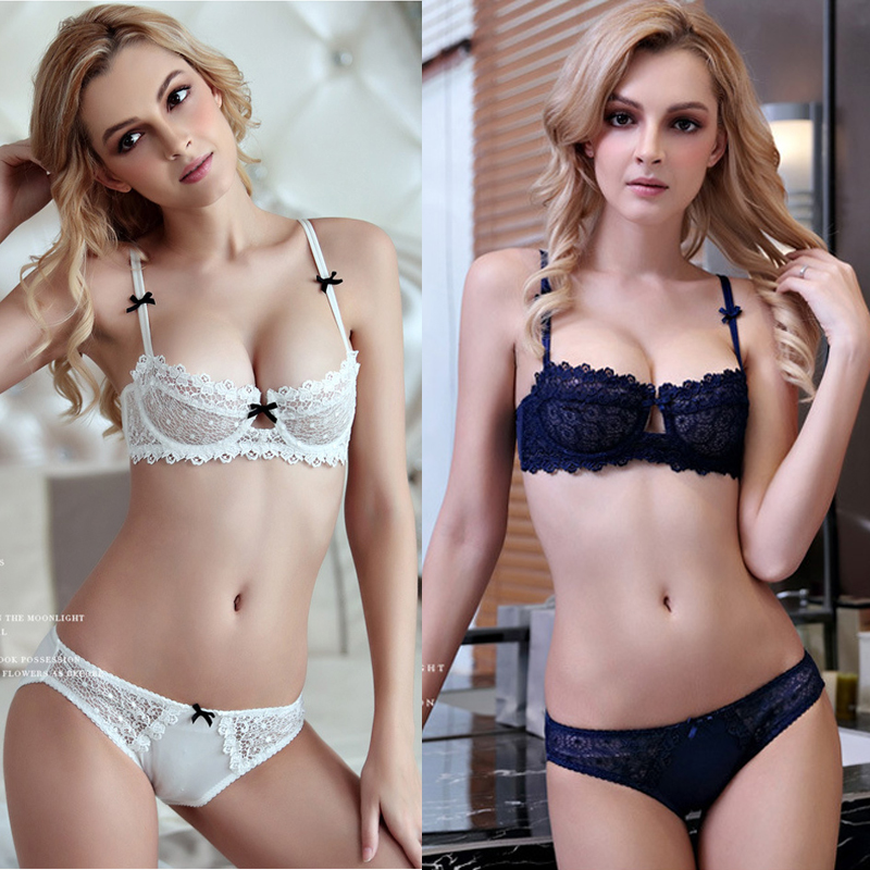 Women lingerie set plus size sexy lace bra and panty sets