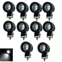 10pcs 10W LED Work Light For CREE chip 2 Inch 12V Car Auto SUV 4WD 4X4 Offroad LED Driving Fog Lamp Motorcycle Truck Headlight