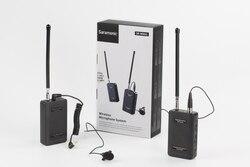 Saramonic SR-WM4C  4-Channel VHF Wireless radio mic Lapel Lavalier Microphone for dslr Camera Camcorders