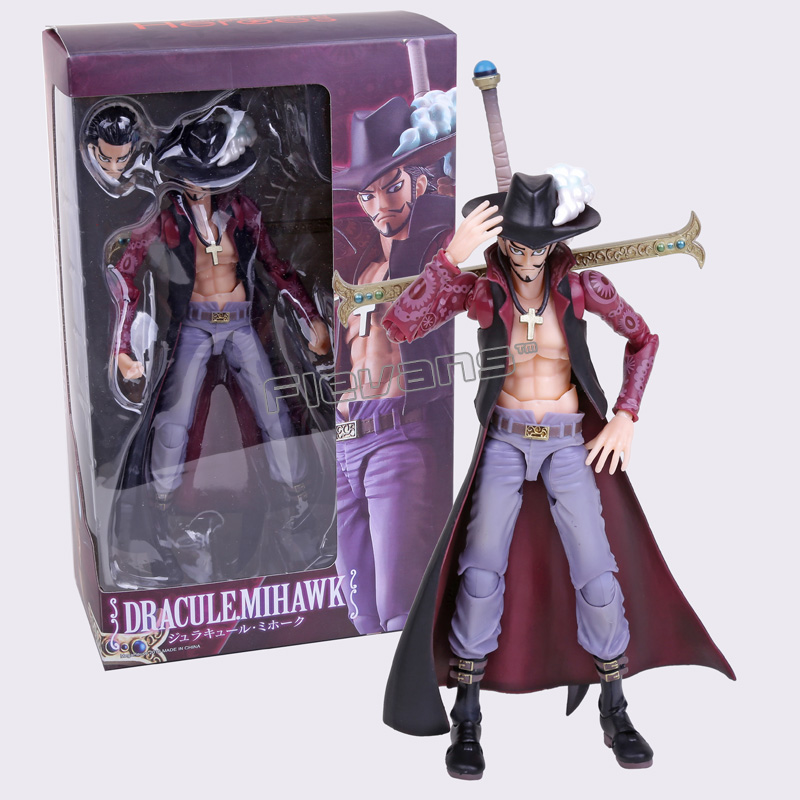 MegaHouse Variable Action Heroes One Piece Dracule Mihawk PVC Action Figure Collection Toy 19cm 22cm anime one piece pop dracule mihawk pvc action figure collection model toy op054
