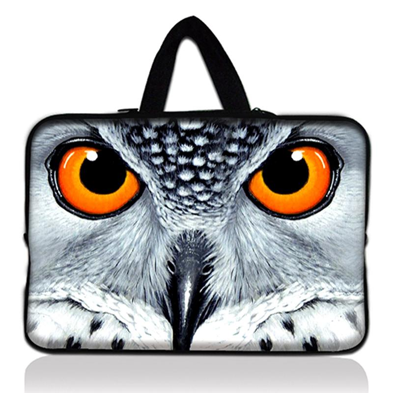 Neoprene 17 Inch Owl Laptop Sleeve Bag Notebook Liner Sleeve For 17 17.3 17.4 Dell ASUS Sony Acer HP For Macbook Pro #