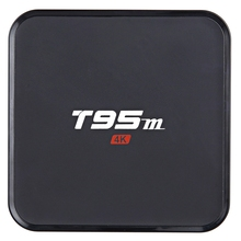 Sunvell S905X T95M Set Top Box 4 K Amlogic Android 5.1 Quad Core 2.4 GHz 2 GB 8 GB WiFi Bluetooth 4.0 HD Inteligente Reproductor Multimedia Caja de la TV