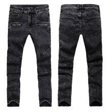 Моды для Мужчин Джинсы Новое Прибытие Дизайн Slim Fit Модные Джинсы Для Мужчин Хорошее Качество Синий Черный Y2031(China (Mainland))